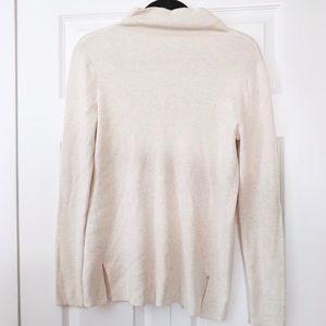 J. Jill Silk Wool Cotton Turtle Neck Sweater